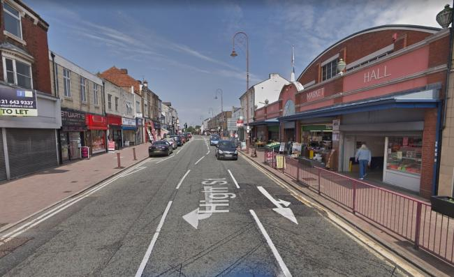 If successful the funding will help upgrade the high street. Photo: Google Maps.