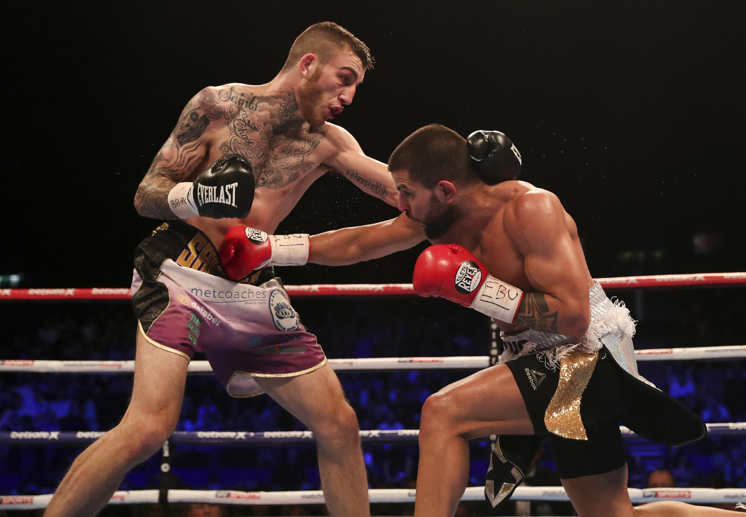Sam Eggington is back in action this Saturday. Photo: Lawrence Lustig.