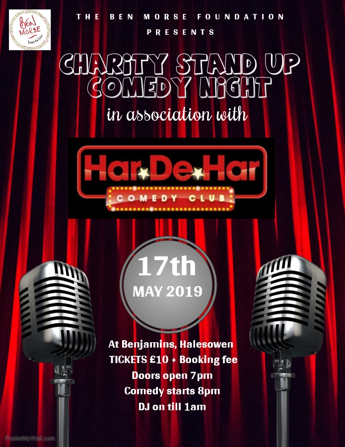 Ben Morse Foundation Charity Stand Up Comedy Night