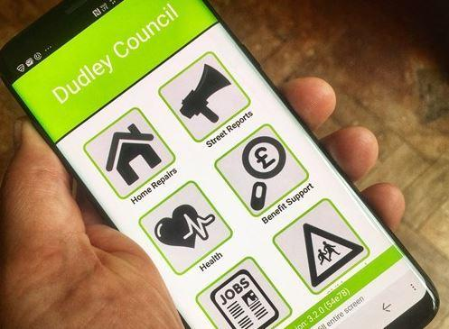 Dudley Council has launched a new app to help people report issues