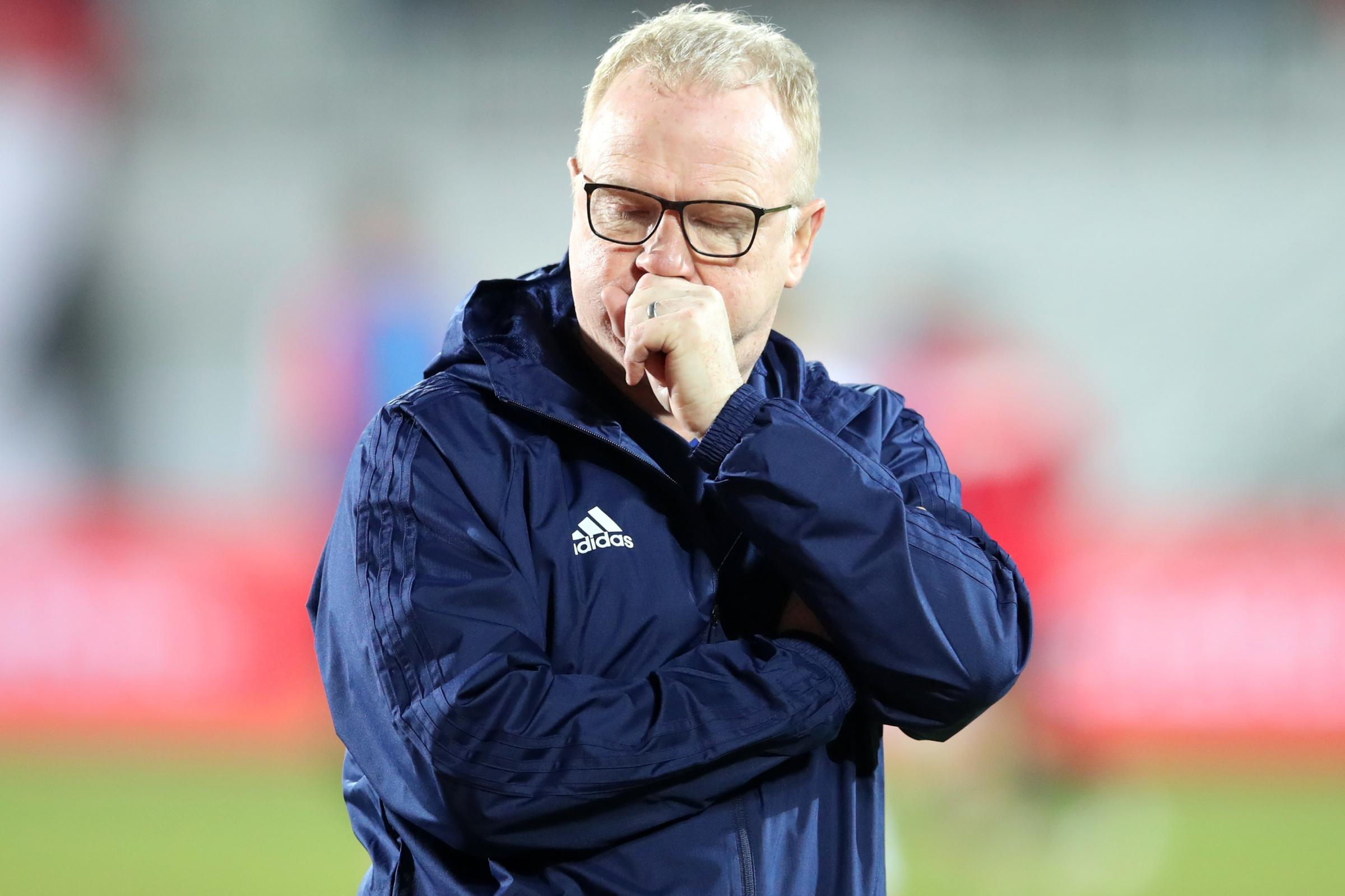Alex McLeish has been sacked by Scotland