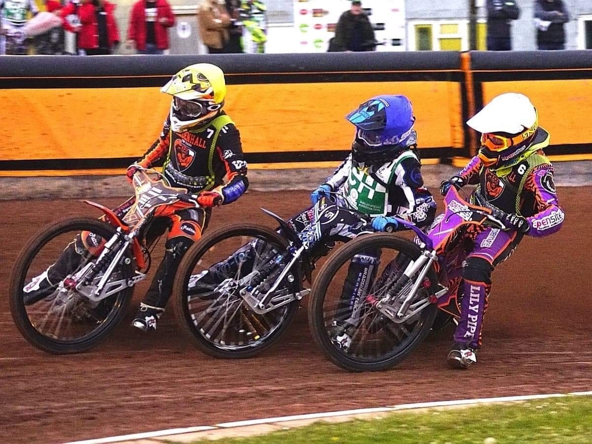 Action as Heathens start the season against Mildenhall. Photo by Phill McGlynn