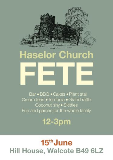 Haselor Church Fete