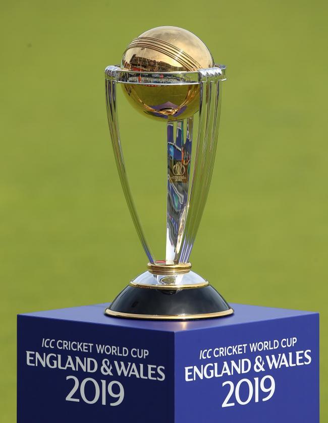 The ICC World Cup Trophy. Picture: PA
